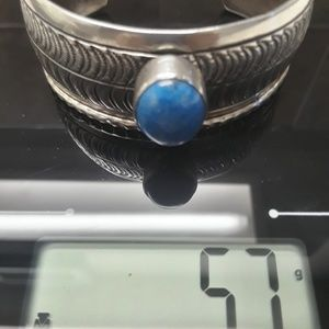 Native American Jewelry - 🚫SOLD🚫Vtg Navajo Sterling Lapis Cuff
